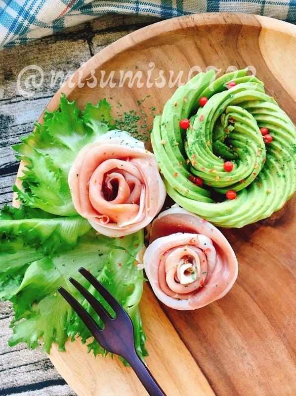 サラダや付け合わせに!生ハムのお花 by;Misuzuさん