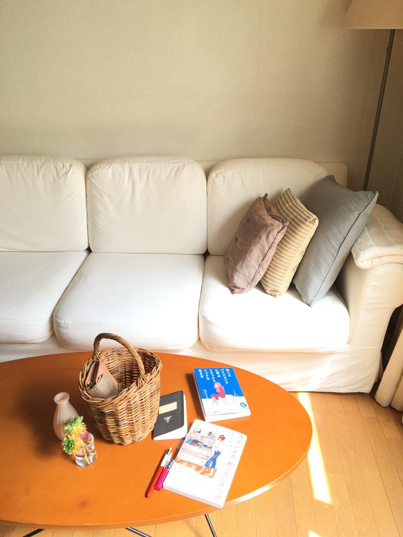「フランス流 捨てない片づけ」の著者である米澤よう子さんのお部屋