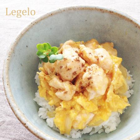 とろけるような柔らかさ♪ 鶏ささみ肉の親子丼☆簡単※節約 by:Legeloさん