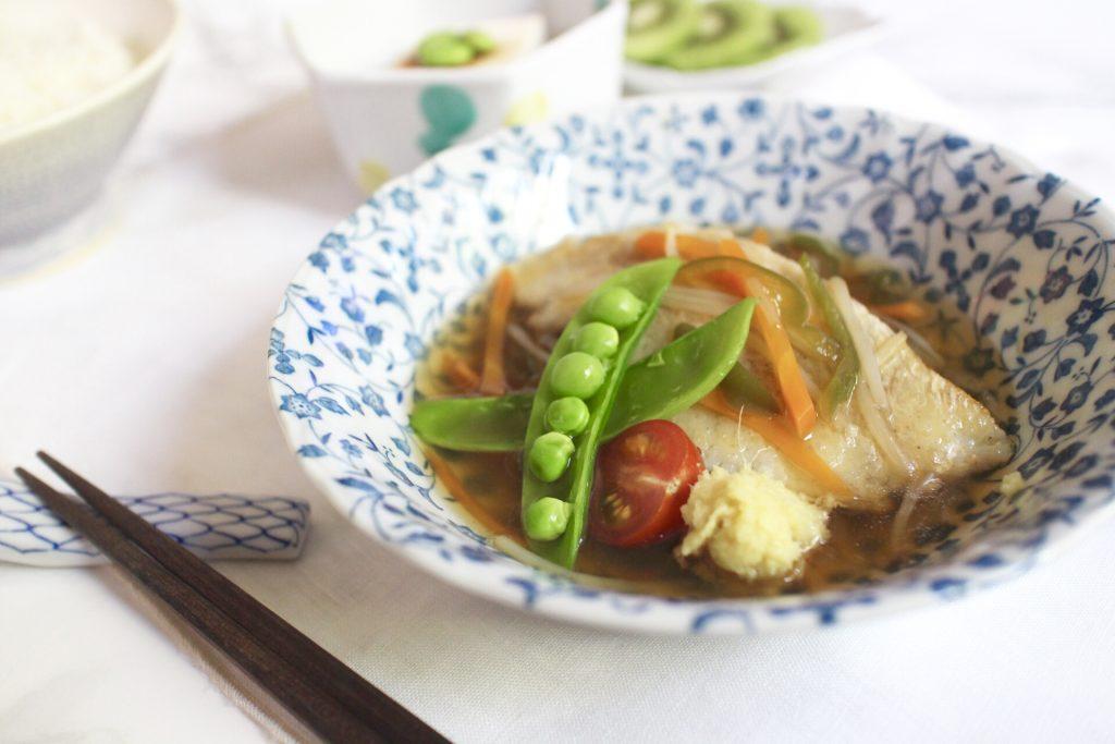 朝から作れる簡単お魚料理!「白身魚の野菜あんかけ」