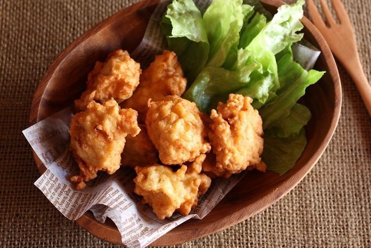 <鶏ひき肉のチキンナゲット> by:はーい♪にゃん太のママさん
