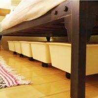 もっと有効活用できるかも♪「ベッド下収納」リアルな実例3つ
