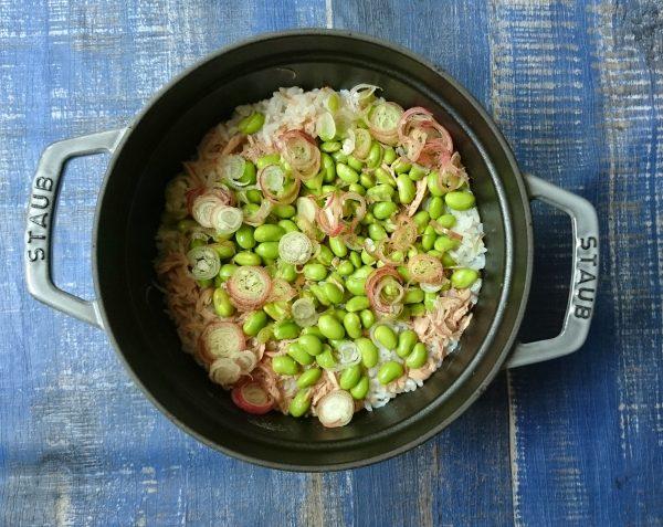 農家さん直伝!枝豆のおいしい「ゆで方」と「炊き込みごはん」レシピ♪ by:村山瑛子さん