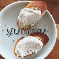 混ぜるだけ!栄養ばっちりの簡単ディップ「サーモン&クリームチーズ」