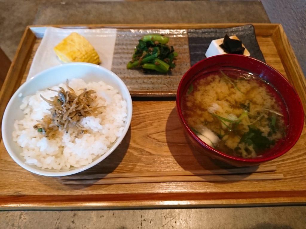 Sentido(センティード)の和朝食