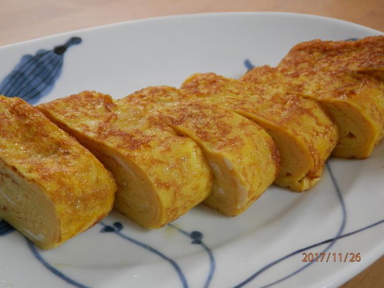 豆乳の出汁巻き卵☆お弁当にも♪ ~by:kaana57さん