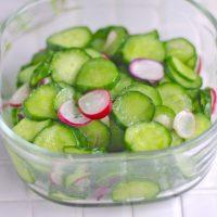 大量消費レシピ!簡単すぎる作り置き「きゅうりの塩ナムル」