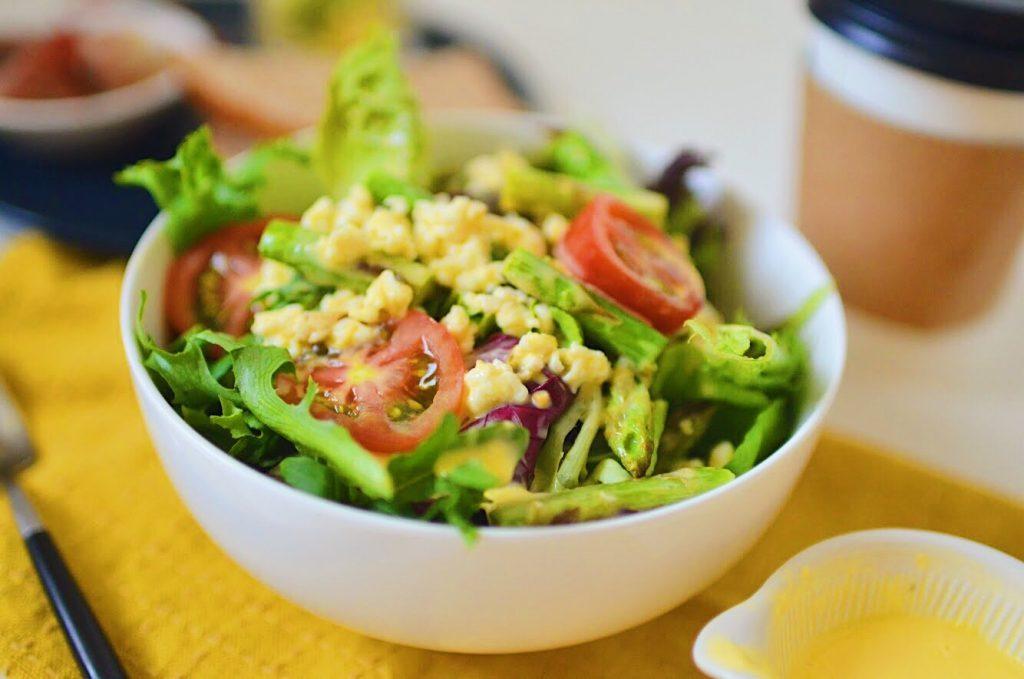 春野菜に♪チンして混ぜるだけ「オランジェソース風ドレッシング」 by:柳沢 紀子さん