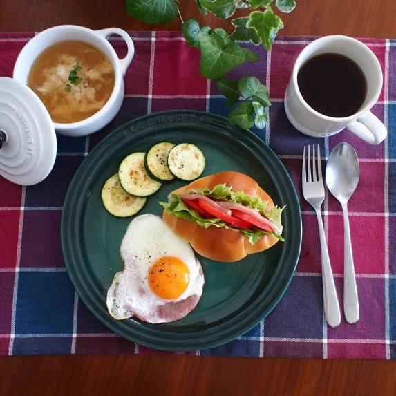 朝美人アンバサダーTomomiさんの朝ごはんプレート