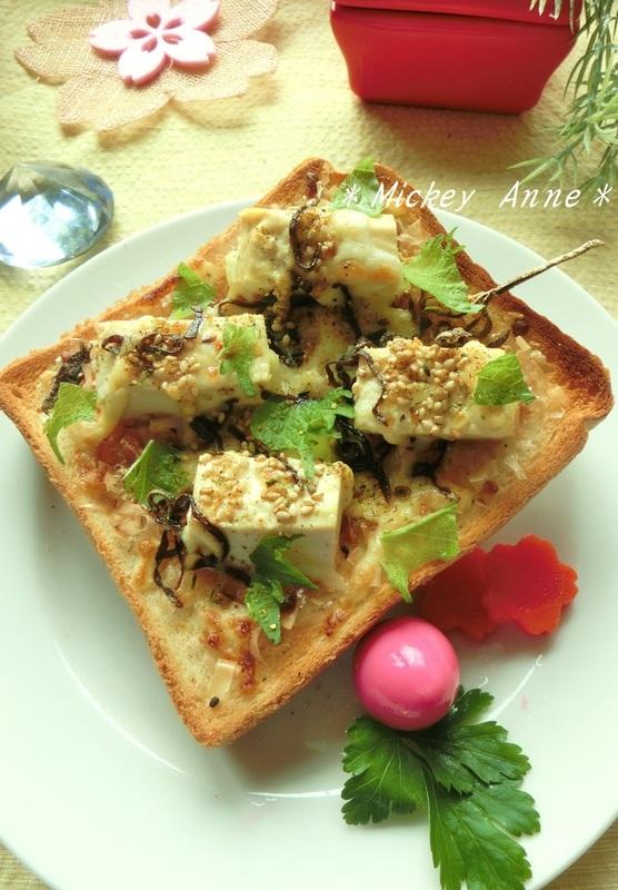 塩豆腐の和トースト by:Mickey Anneさん