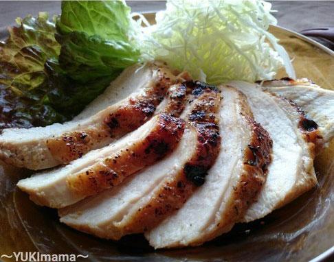 節約はやうま!~焼肉のたれで簡単~鶏むね肉のローストチキン(作りおき) by:YUKImamaさん