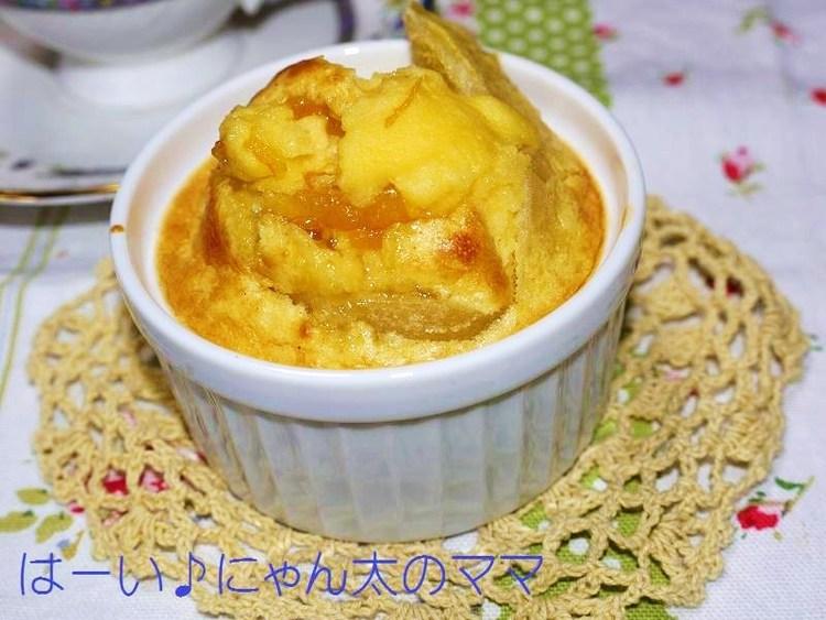 ホットケーキミックスで簡単!りんごと柑橘とレーズンのヘルシーカップケーキ♪ by:はーい♪にゃん太のママさん