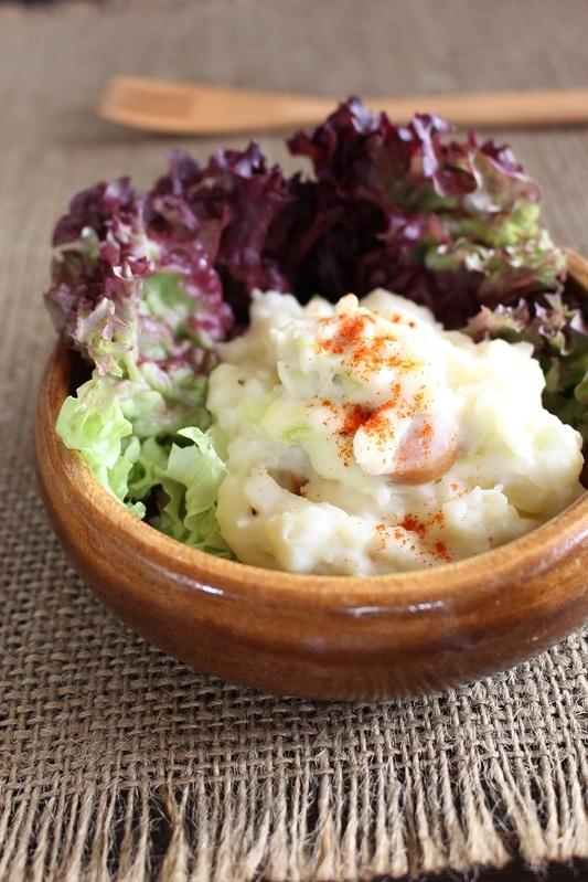 <春キャベツとポテトのサラダ> by:はーい♪にゃん太のママさん