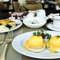GW明けは汐留でエッグベネディクトから始まる♪ホテル朝食☆【コンラッド東京】