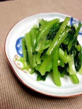 毎日食べても飽きない♪小松菜のナムル by:Y'sさん