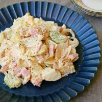 ホクホク食感♪旬を味わう季節限定レシピ「そら豆のポテトサラダ」