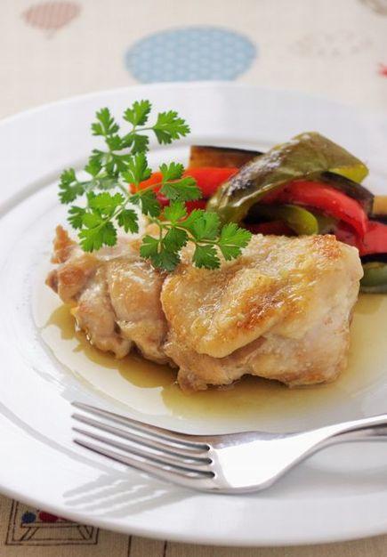 チキンと夏野菜のソテー わさび風味 by:高羽ゆきさん