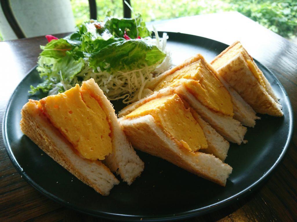 京都BAMBOOHOUSE のタマゴトースト