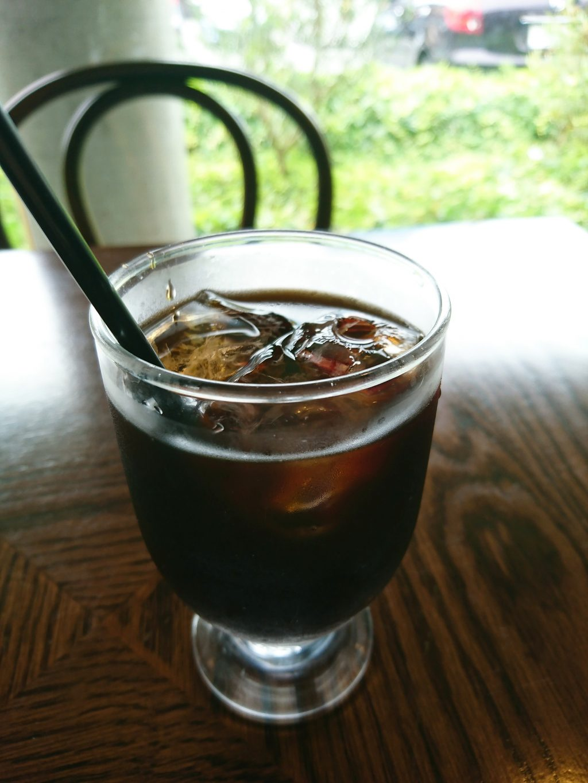 京都BAMBOOHOUSE のアイスコーヒー