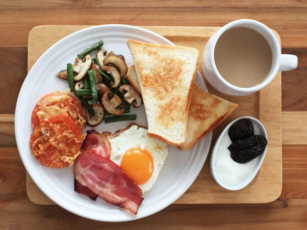 10分でできる朝ごはんプレート
