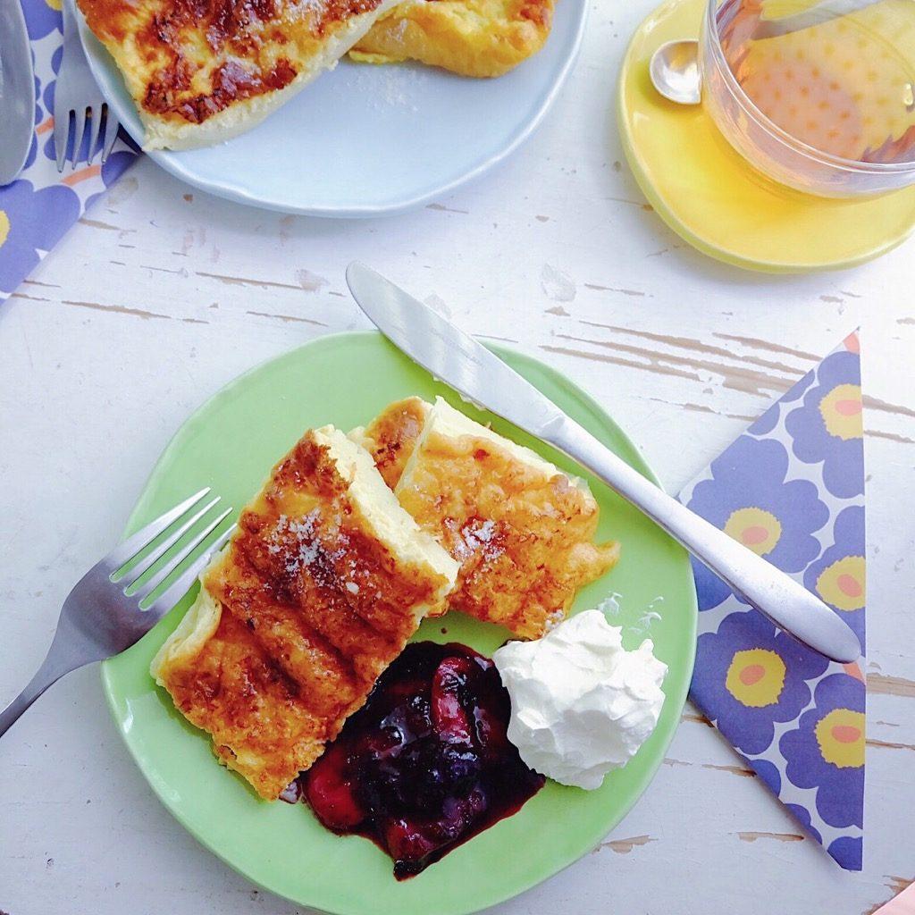 簡単にできるフィンランド風「パンケーキ」