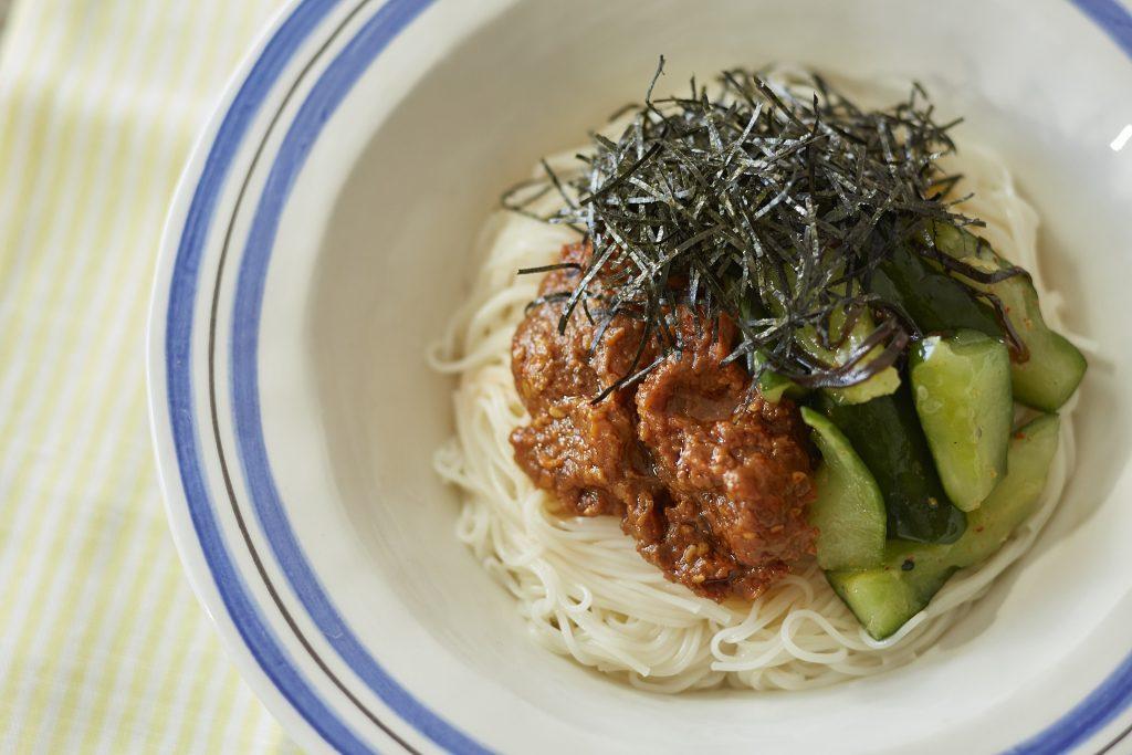 リメイクでひき肉いらず!素麺でかんたん「ジャージャー麺」 by:FOOD unit GOCHISOさん
