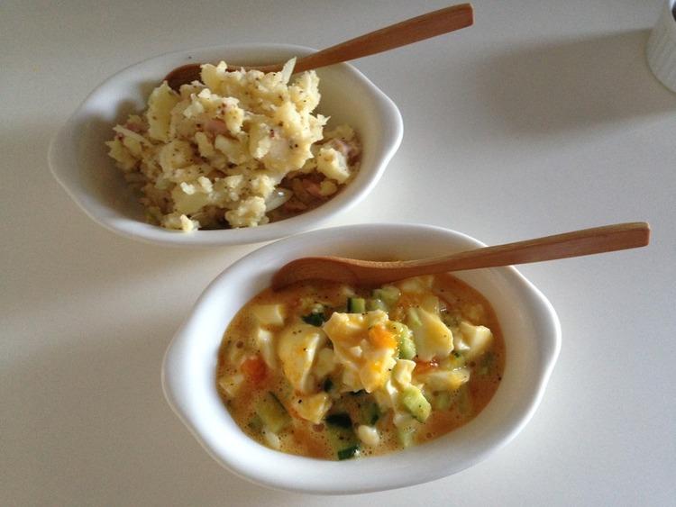 やっぱりこれね!ゆで卵とポテトのディップソース by:まんまみーかさん