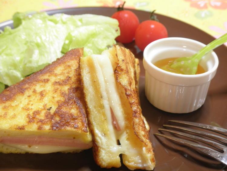 とろ~りチーズのクロックムッシュ☆ by:snow kitchen☆さん