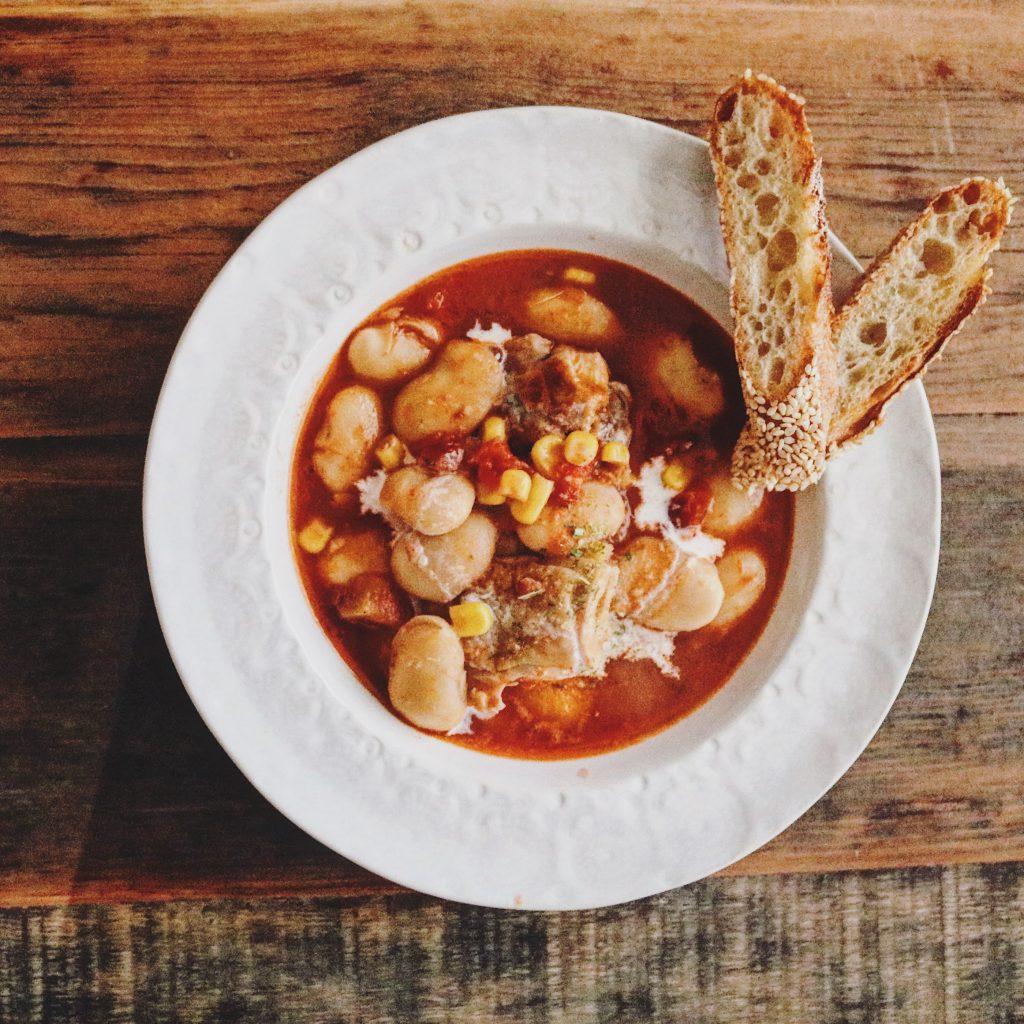 yacocoさんの豆入りトマトスープ