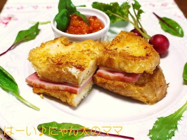 とろぉ~りおいしい☆チーズとベーコンのクロックムッシュ♪ by:はーい♪にゃん太のママさん