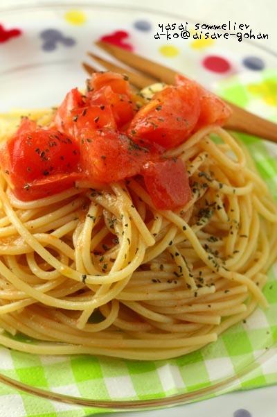 絶品!ボウルで混ぜるだけ「トマトの冷製パスタ」 by:ATSUKO KANZAKI (a-ko)さん