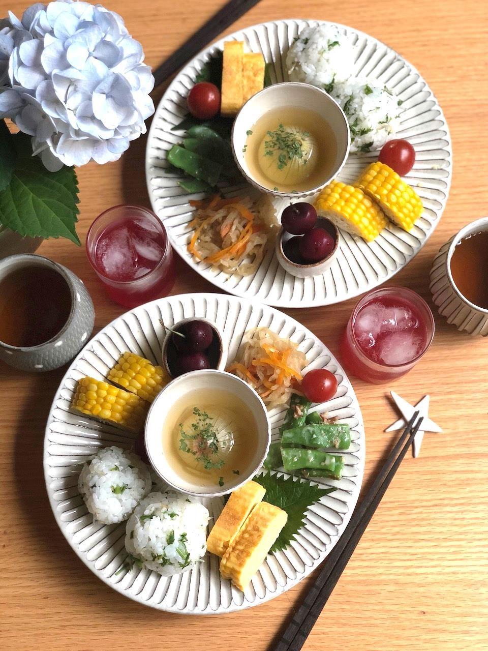 野菜のワンプレート朝食