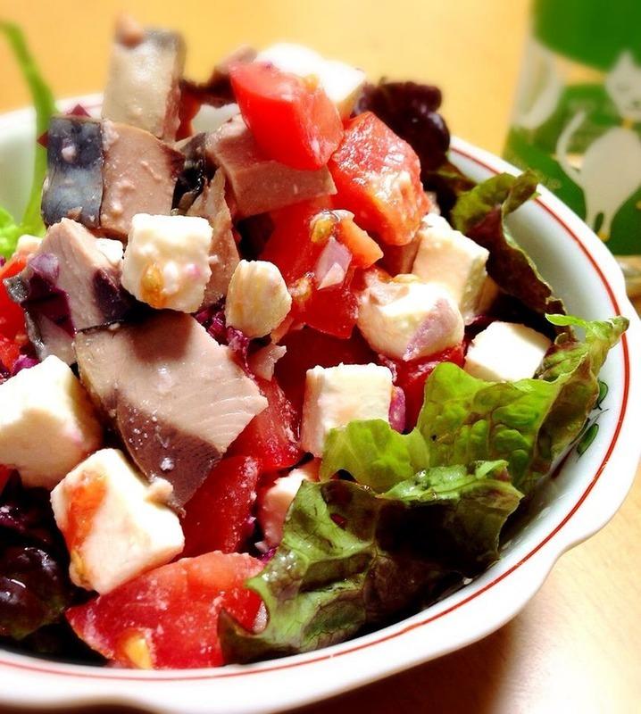 なまり節とフェタチーズのサラダ by:Misuzuさん