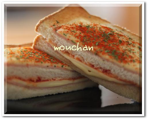 遅い朝食にクロックムッシュ by:モーちゃんさん