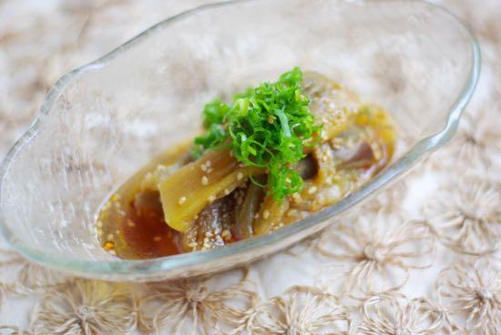 作り置きOK!じゅわっと広がる「茄子の中華風冷菜」