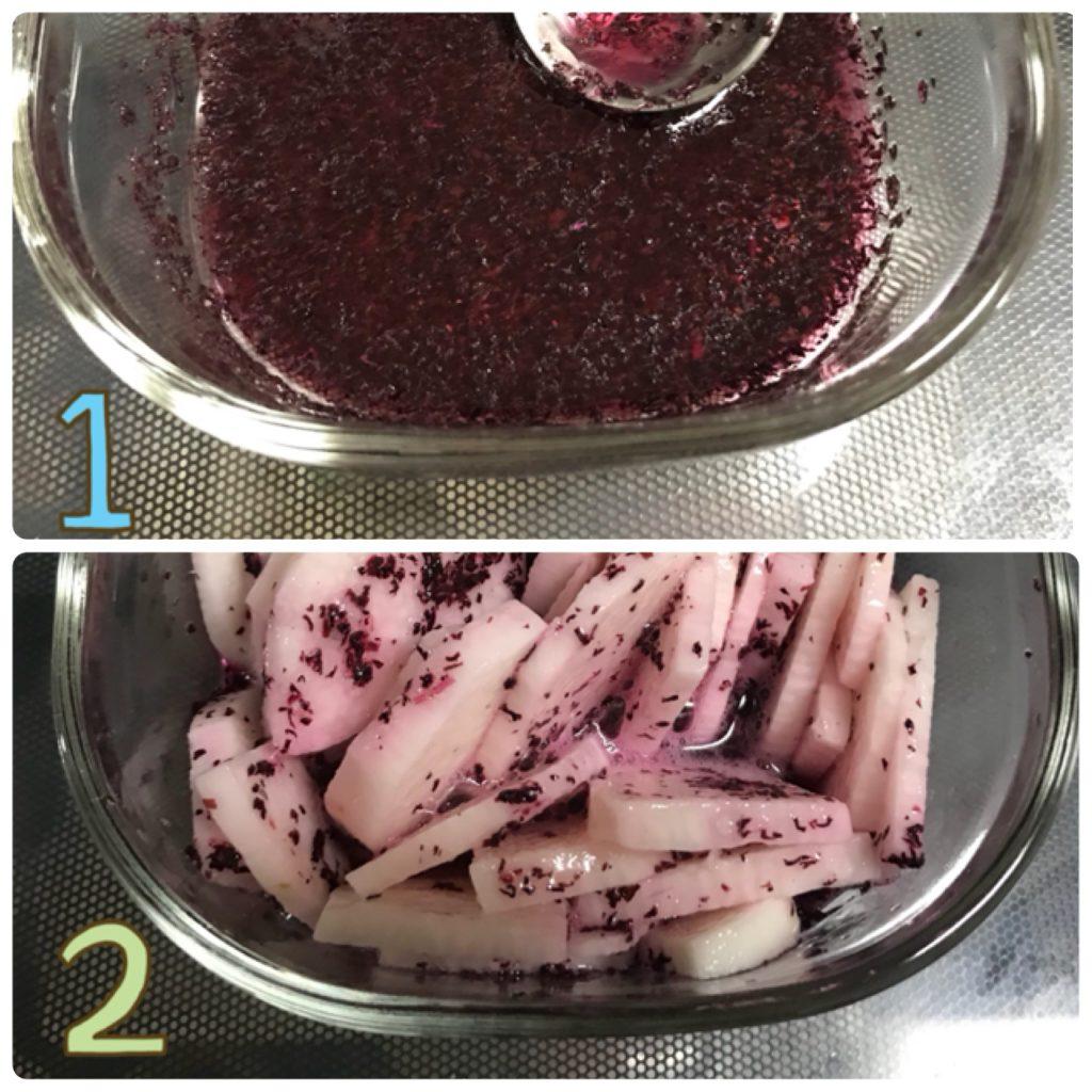 少ない材料でカンタン!「長芋のゆかり漬け」の作り置きの作り方