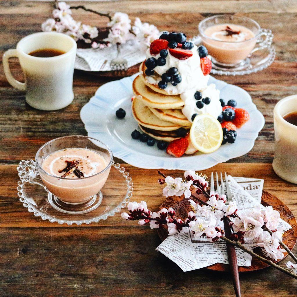 「ホットケーキミックス」×「作り置き」で!カフェ風朝ごはん