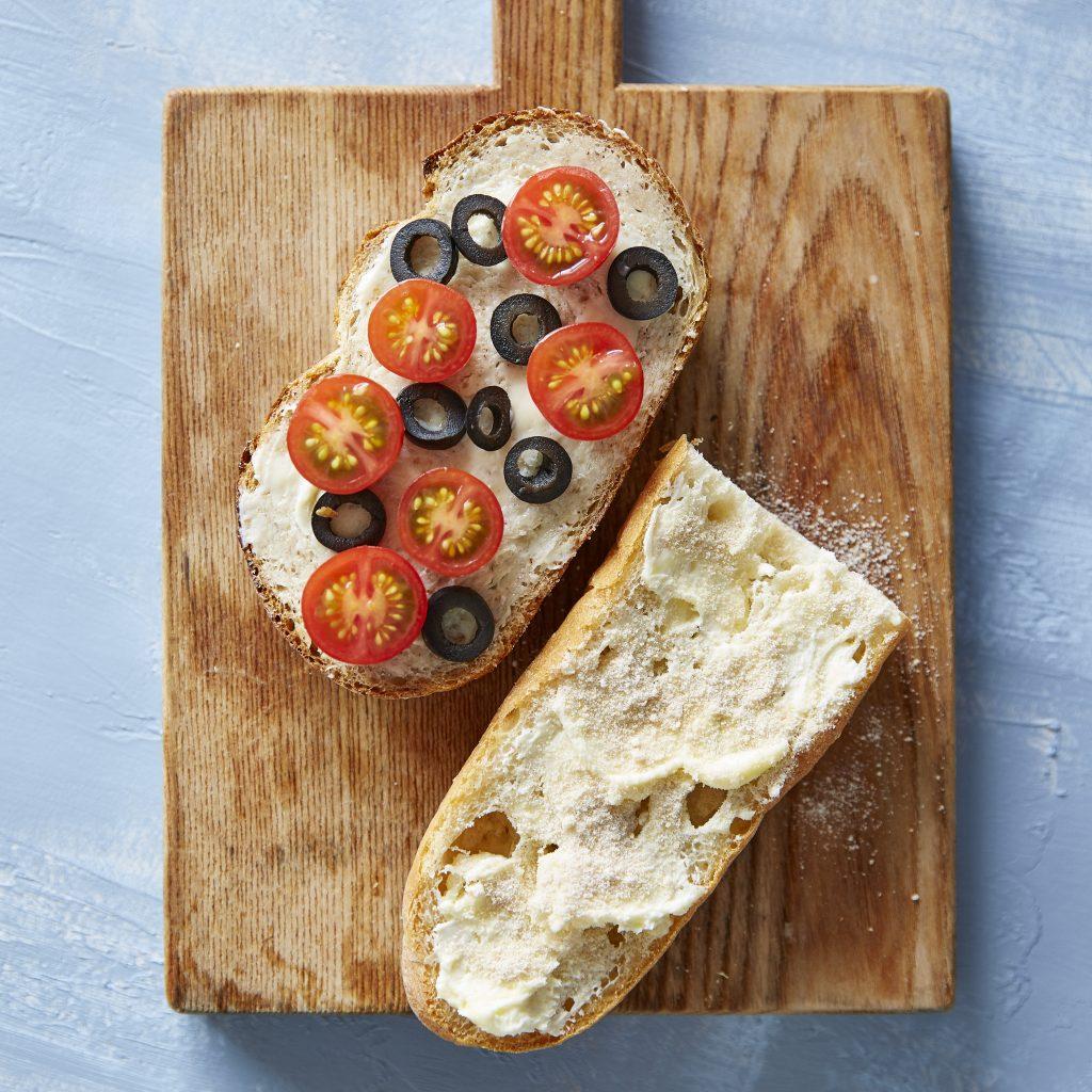おいしいバターとパンがあれば♪火を使わず簡単「タルティーヌ」2種