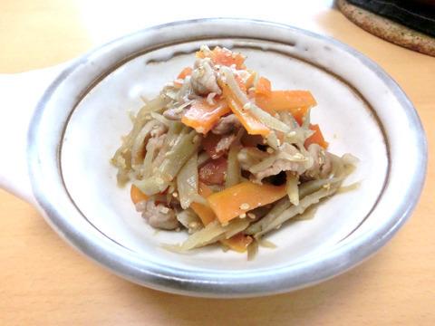 豚肉とゴボウのきんぴら by:kotoneazusaさん