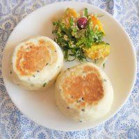 フライパンで焼ける!オイルも卵も発酵もいらない「お豆腐パン」レシピ♪