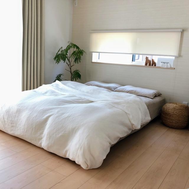 清潔感+透明感♪初夏に整えたい「ベッド周り」