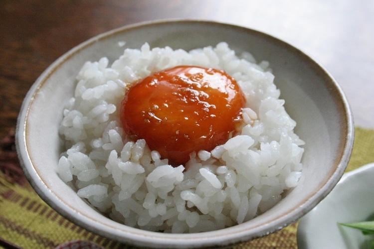 生姜入りしょうゆ玉子のっけご飯 by:nickyさん