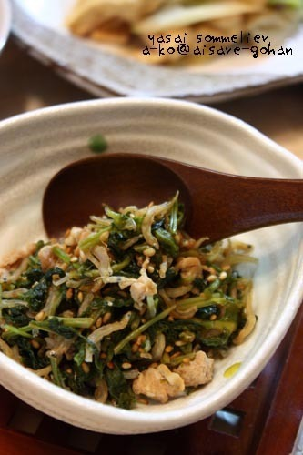 男性や子供も喜ぶ♪「大根葉と豚肉の生ふりかけ」保存も可! by:ATSUKO KANZAKI (a-ko)さん
