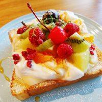 【大阪】日曜限定!フルーツとクリームたっぷり「乙女モーニング」@Cafe Orangerie