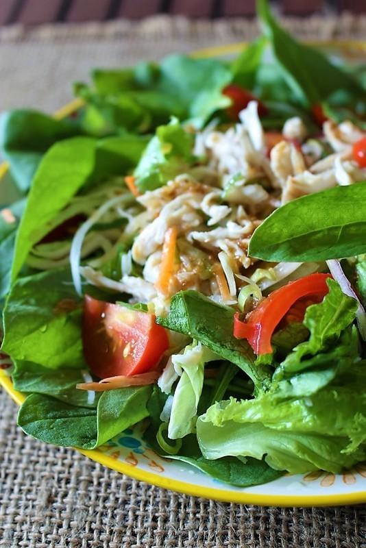 サラダほうれん草と鶏ささみなどのサラダ by:はーい♪にゃん太のママさん