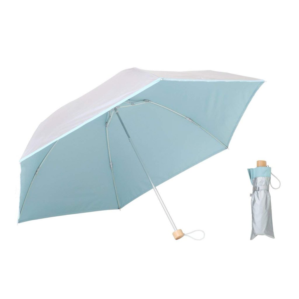 (感動モノの清涼感!晴雨兼用「UVカット折りたたみ傘」 by 編集部)