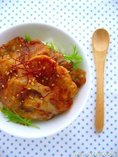 韓国風コチュジャン豚丼 by:みぃさん