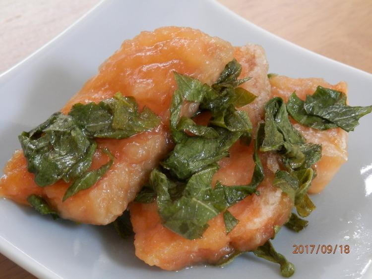 お弁当に♪おつまみに♪鮭の大葉漬け by:kaana57さん