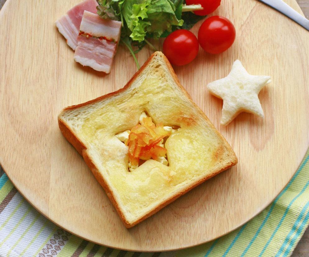 5分でキラキラ♪クリチ&ママレードでつくる「星空トースト」 by:大本紀子さん