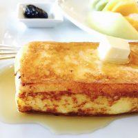 ふわっ♪トロッ♪しっとり!フレンチトーストを召し上がれ♪ ホテル朝食☆【ホテルオークラ】